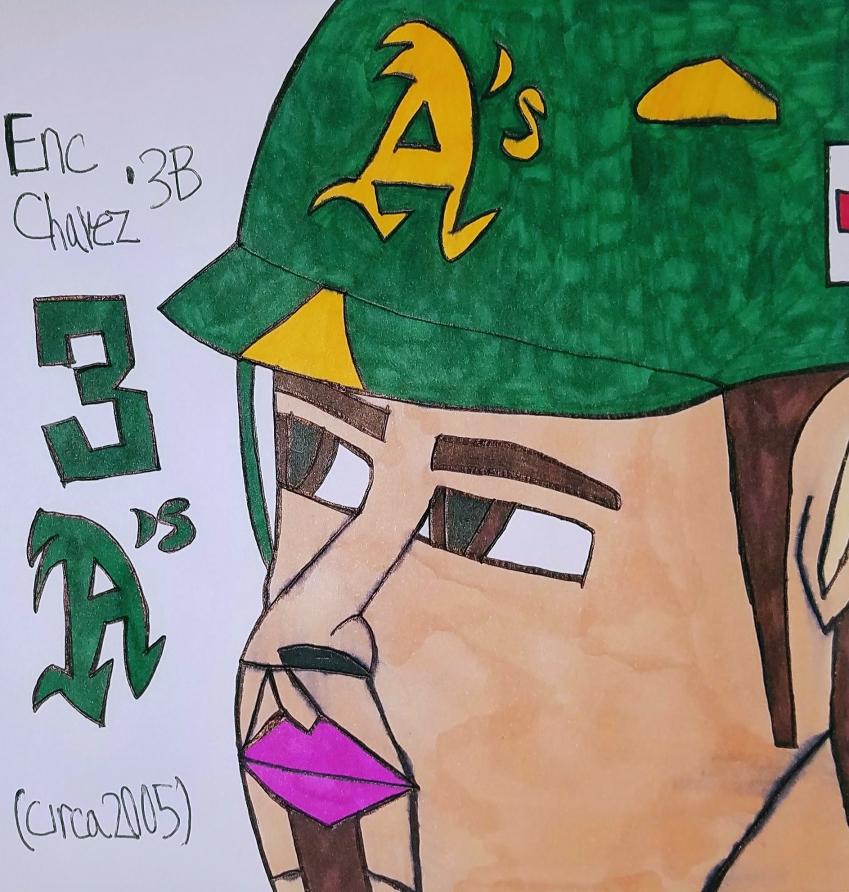 Eric Chavez by armattock